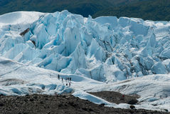 Matanska冰川阿拉斯加 库存图片