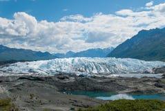 Matanska Glacier Alaska. The Matanska Glacier in the summer time Stock Images