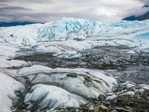 Matanuska冰川,阿拉斯加 库存图片