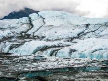 Matanuska冰川,阿拉斯加 免版税图库摄影