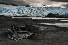 Matanuska冰川 免版税库存图片