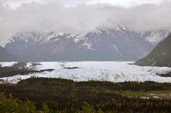 Matanuska glaciär royaltyfri fotografi