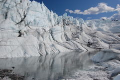 Amazing Matanuska Glacier, Alaska Royalty Free Stock Photo