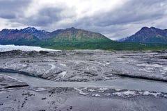 The Matanuska Glacier. In Alaska Royalty Free Stock Image