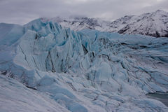 Matanuska Glacier Alaska Royalty Free Stock Photography