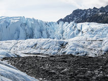 Matanuska Glacier in Alaska (USA) Stock Images