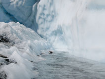 Matanuska Glacier in Alaska, USA Stock Image