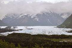 Matanuska Glacier. Along the Glenn Highway in Alaska Royalty Free Stock Photography
