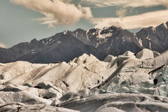 Matanuska glacier with climbers Stock Photography