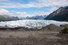 Matanuska Glacier Royalty Free Stock Photography