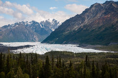 Matanuska lodowiec Fotografia Stock