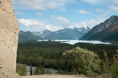 Matanuska lodowiec Zdjęcia Stock