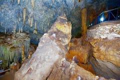 Matanzas, Cuba Cavernes de Bellamar ? l'int?rieur photos stock