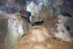 Matanzas, Cuba Cavernes de Bellamar ? l'int?rieur images stock
