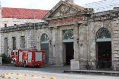 Matanzas Fire Station Stock Photos