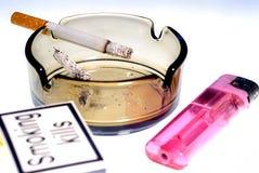 Matanzas que fuman Fotografía de archivo libre de regalías