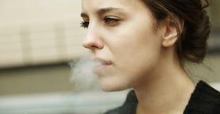 Matanzas que fuman Fotos de archivo