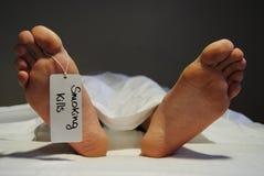 Matanzas que fuman 4 Fotografía de archivo libre de regalías