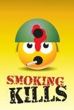 Matanzas que fuman Ilustración del Vector