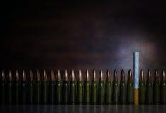 Matanzas que fuman Imagen conceptual Imagen de archivo