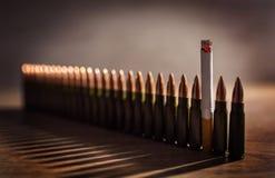 Matanzas que fuman Imagen conceptual Fotos de archivo