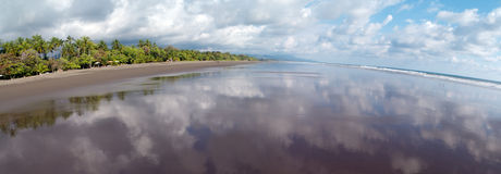 Matapalo Beach in Costa Rica Stock Image