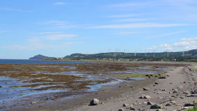 Matapedia natural landscape of Gaspes Peninsula stock footage