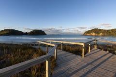 Matapouri, Nueva Zelandia Imagenes de archivo