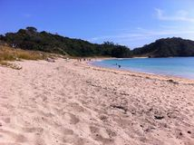 Matapouri strand Royaltyfri Bild