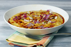 Matar Chaat Stock Photo
