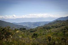 Matarredonda-Park in Cundinamarca, Kolumbien Lizenzfreies Stockbild