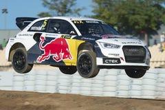 MATÍAS EKSTROM Barcelona FIA World Rallycross Imagen de archivo libre de regalías
