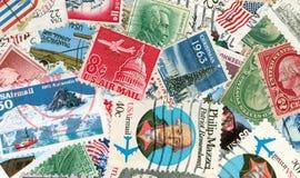 Matasellos de la vendimia de los E.E.U.U. foto de archivo libre de regalías