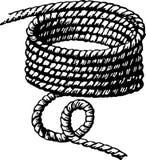 Matassa della corda Fotografia Stock