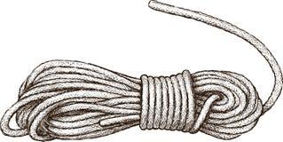Matassa della corda Fotografie Stock