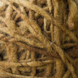 Matassa di lana dalle pecore fotografie stock libere da diritti