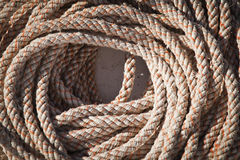 Matassa marina della corda Fotografia Stock Libera da Diritti