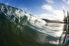 Matauri Bay Wave, Northland, NZ Stock Photography