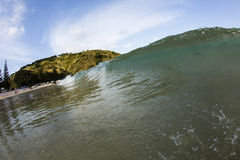 Matauri Bay Wave, Northland, NZ Stock Image