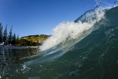 Matauri Bay Wave, Northland, NZ Stock Images