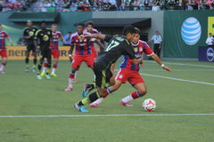Match ALL-STAR de MLS Photo libre de droits