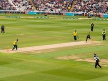 Match Angleterre du cricket T20 photographie stock libre de droits