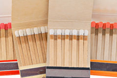 Match Books Stock Photography