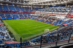 Match Cameroon and Australia at the Confederations Cup in Saint. Saint-Petersburg .Russia.22 June 2017. Match Cameroon and Australia at the Confederations Cup in Stock Images