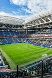 Match Cameroon and Australia at the Confederations Cup in Saint. Saint-Petersburg .Russia.22 June 2017. Match Cameroon and Australia at the Confederations Cup in stock photo