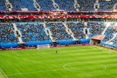 Match Cameroun et Australie à la tasse de confédérations dans le saint Photos stock