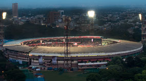Match on @ Chinnaswamy Stadium Royalty Free Stock Images