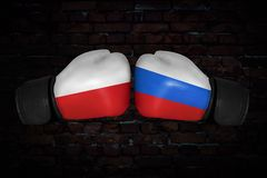 A boxing match Stock Images