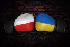 A boxing match Royalty Free Stock Photos
