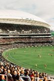 Match d'AFL chez Adelaide Oval Photo stock